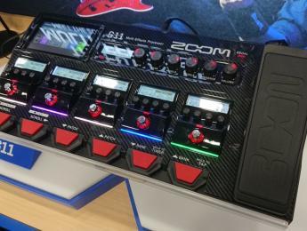 Zoom G11, nuevo procesador multiefectos con pantalla táctil y carga de IRs