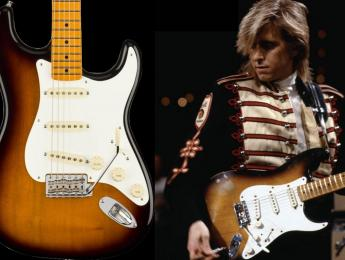 Fender Eric Johnson 'Virginia' Stratocaster, recreación de la guitarra usada en Cliffs Of Dover