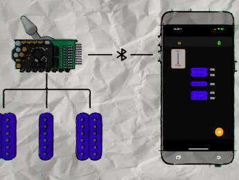 Marconi Lab HyperSwitch, un selector de pastillas programable mediante Bluetooth