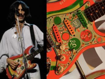 Fender lanza una réplica de la psicodélica 'Rocky' Stratocaster de George Harrison
