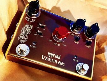 Vemuram Myriad, el fuzz signature de Josh Smith, ahora con bucle de efectos y mezclador