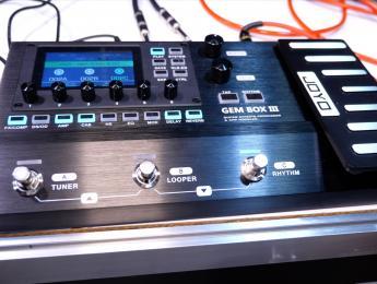 Vistazo rápido al Joyo Gem Box III: multiefectos emulador de amplis digital