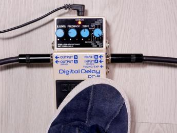 Demo del delay Boss DD-8 (No talking)