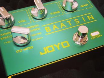 Joyo Baatsin: 8 overdrives clásicos recopilados en un pedal analógico
