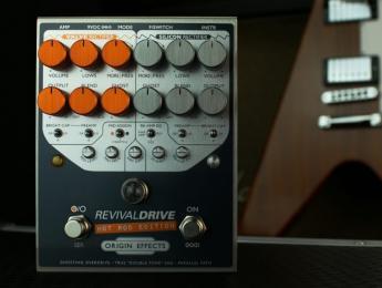 Origin Effects RevivalDrive Hot Rod Edition, ya disponible la versión High Gain de este Amp-In-A-Box