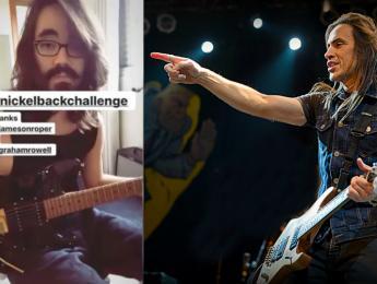 Nuno Bettencourt avisa a Mateus Asato de que el solo de guitarra que atribuye a Nickelback es suyo