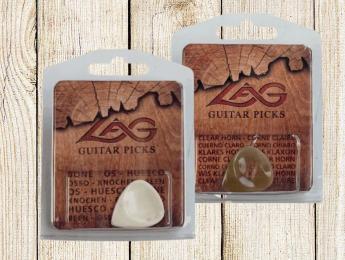 Las nuevas púas orgánicas de Lâg, de hueso, cuerno y cuatro tipos de maderas