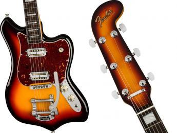 Fender recupera el modelo Maverick como parte de la nueva serie Parallel Universe Volume II