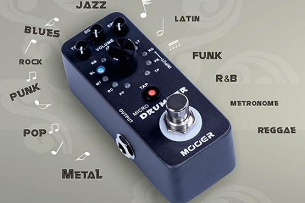 Mooer Micro Drummer, un batería metido en un pedal