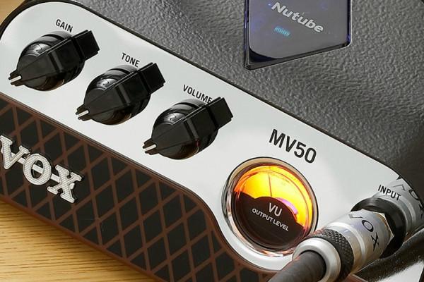 MV50, un diminuto ampli de 50w de Vox