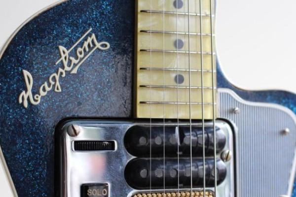 La guitarra Hagstrom de Kurt Cobain de Nirvana a subasta