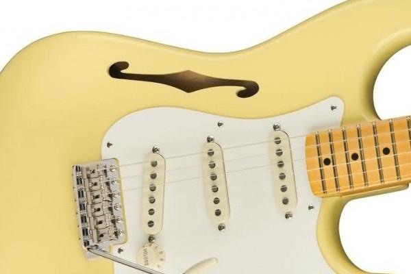 Eric Johnson Signature Stratocaster Thinline, una Strato semisólida de Fender