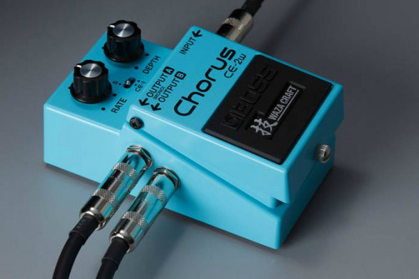 ¿Cómo usar un pedal de chorus?