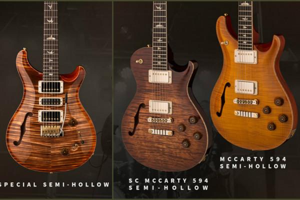PRS celebra el Experience 2018 con el lanzamiento de 3 guitarras Semi-Hollow