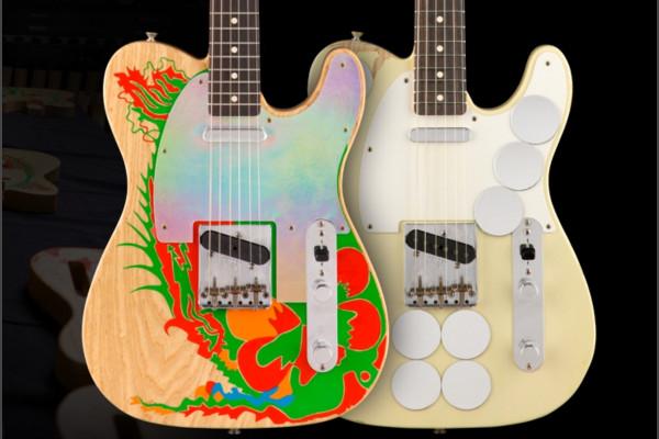 Ya disponibles las Fender Telecaster Mirror y Dragon de Jimmy Page