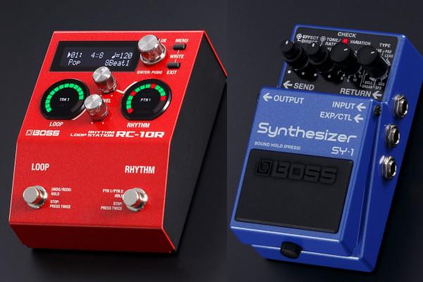 Novedades Boss: Sintetizador polifónico SY-1 y RC-10R Rhythm Loop Station con 280 ritmos