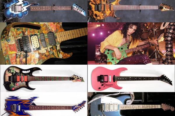 ¿Tienes alguna de estas guitarras de Steve Vai? Ayúdale a reencontrarse con ellas para documentarlas