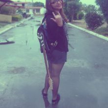 Rock and roll babe!