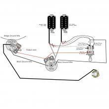 Cableado PRS Custom con 3 way toggle