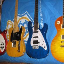Mis guitarras principales