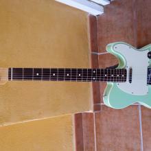 Custom Telecaster sea foam green