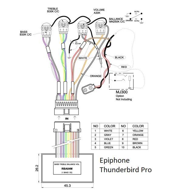 ayuda con un bajo thunderbird   el taller